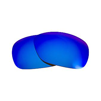 SEEK Replacement Lenses Compatible for Oakley C-Wire Polarized Blue Mirror