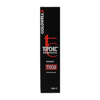 Goldwell Top Chic 7RR Max Luscious Red Permanent Hair Color 60ml