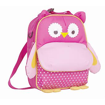 Navigate My Little Lunch Backpack Lunch Bag, Pink Owl