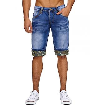 Men's Jeans Shorts Camouflage Men's pants Summer Capri Army Military Style