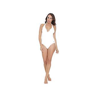 Seaspray SY006435A kvinders hvid ensfarvet kostume ét stykke badedragt