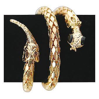Bransoletka wąż złota bransoletka elastyczna akcesoria biżuteria karnawał