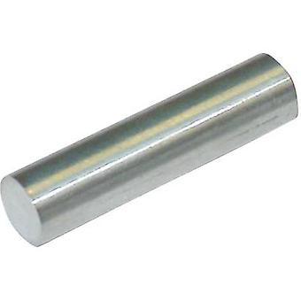 StandexMeder Electronics 4003004003 Permanent magnet Rod (Ø x L) 4 mm x 19 mm AlNiCo 1.24 T Temperature limit (max.): 400 °C