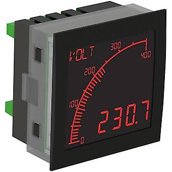 Trumeter APM-VOLT-ANO Digital rack-mount meter The APM VOLTAGE MEASURING DEVICE, NEG-LCD with outputs
