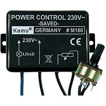 Componente 110 V AC do controlador de energia Kemo M160, 230 V AC