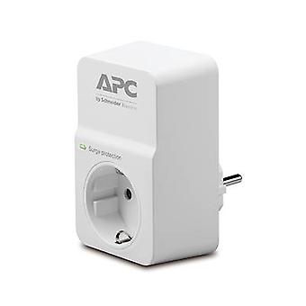 APC by Schneider Electric PM1W-GR Surge protection in-line connector White