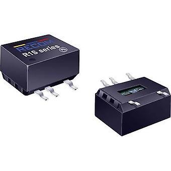 RECOM R1S-0505/HP DC/DC ממיר (SMD) 5 V DC 5 V DC 200 mA 1 W לא. של תפוקות: 1 x