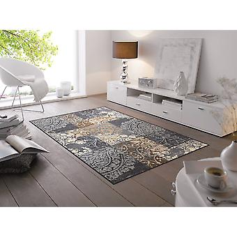 Tapete de piso lavável cinza de armonia lavar + secar