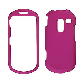 Wireless Solutions Soft Touch Snap-On Case for Samsung Profile R580 (Hot Pink)