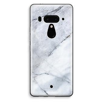 HTC U12 + przezroczyste przypadku (Soft) - marmur biały