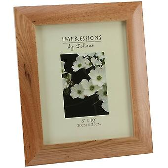 Juliana Impressions Wooden Photo Frame 8 x 10 - Oak