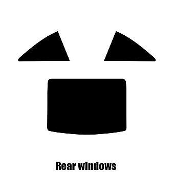 Pre gesneden venster tint - Mercedes SL Roadster - 2013 en nieuwer - achterzijde windows