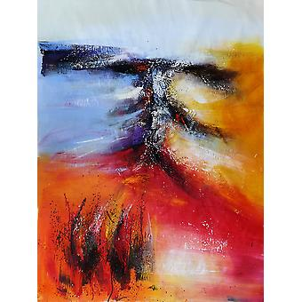 75x100 cm oil painting on canvas
