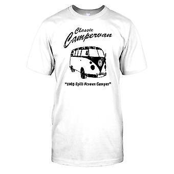 Campervan clássico-1963 tela dividida Mens camiseta