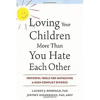 Älska ditt barn mer än du hatar varandra: Kraftfulla verktyg för att navigera en hög-konflikt skilsmässa