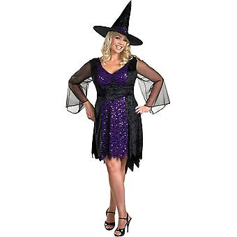 Sparkling Witch Adult Costume