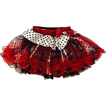 Monster Hig Red Black Petticoat