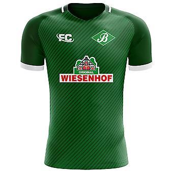 2018-2019 Werder Bremen Fans Culture Home Concept Shirt - Kids