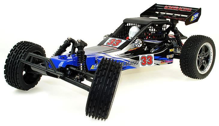 Dune Buggy - 1/8 Scale 2WD RC Car With LED Lights - Brushed Version