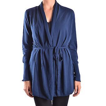 Peuterey Ezbc017011 Women's Blue Cotton Cardigan
