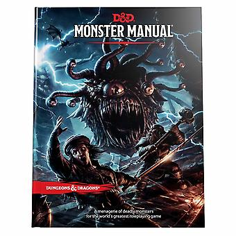 Dungeons & Dragons RPG - Monster Manual Book Role Playing