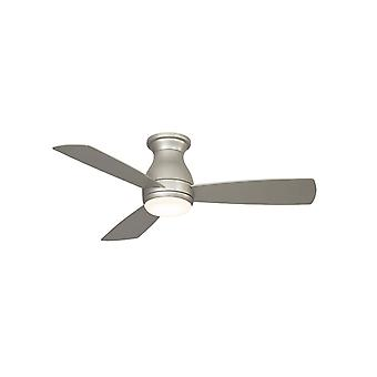 """Outdoor ceiling fan HUGH WET 112cm / 44"""" Nickel with LED"""