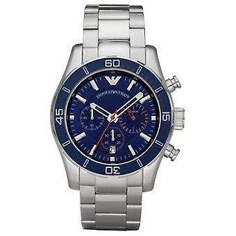 Emporio Armani Ar5933 Mens Sportivo Luxe Blue Steel Watch
