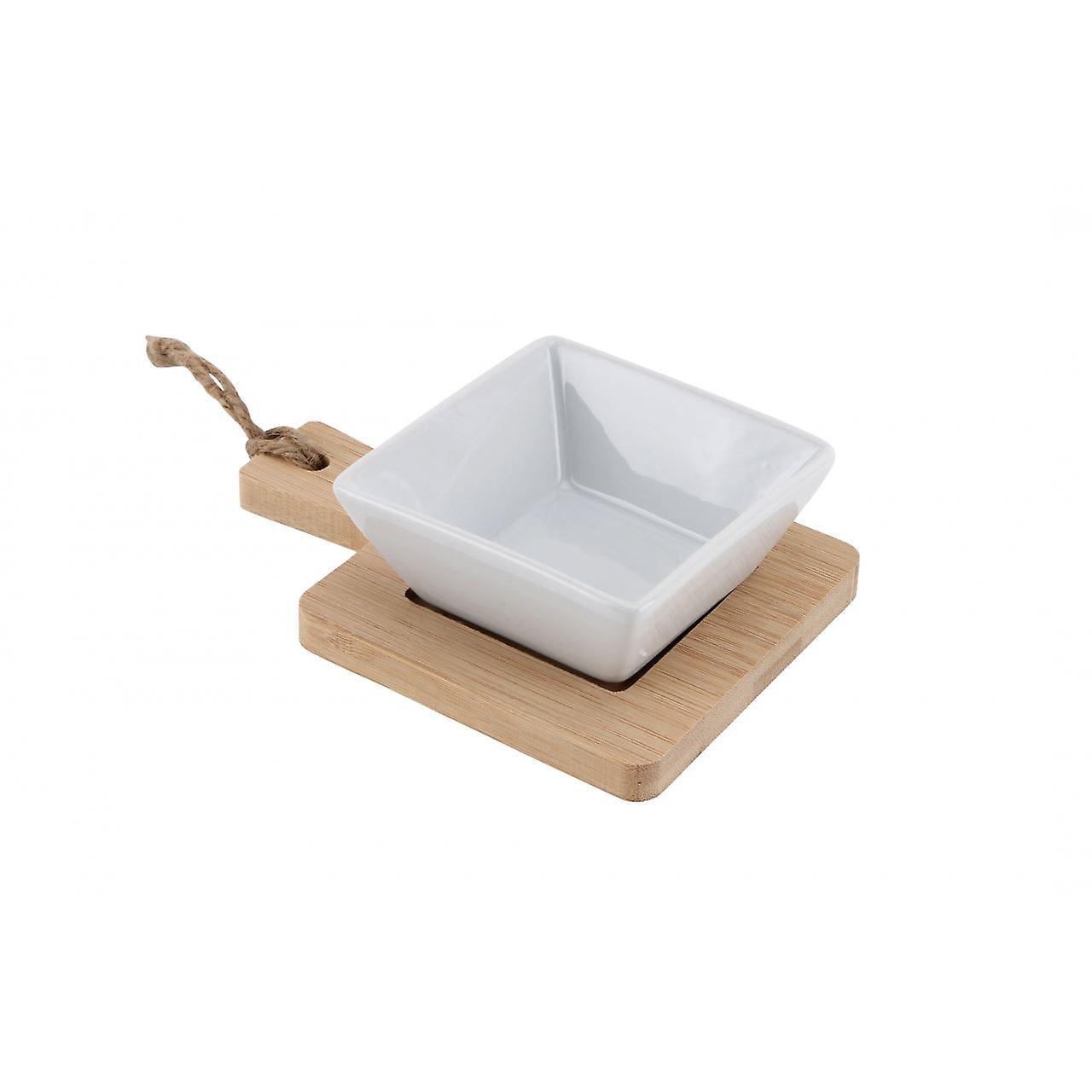 Mini Ceramic Nibble Bowl & Plate