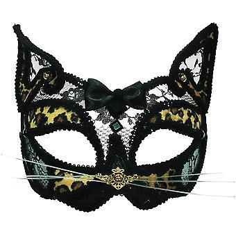Bristol Neuheit Unisex Transparent Spitze Leopard Maske