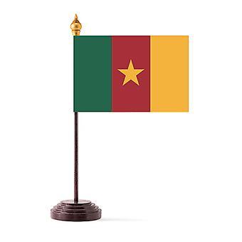 Kamerun Tabellflagg med Base og stokk