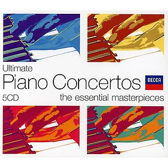 Tchaikovsky/Grieg/Beethoven - Ultimate Piano Concertos: The Essential Masterpieces [CD] USA import