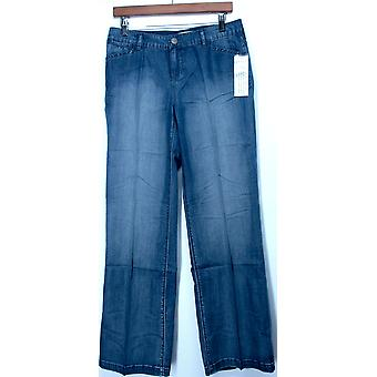 Motto 5 Pocket Fly Front Denim Pants Chambray Blue A201292