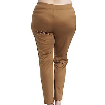 Rosch 1194561-10071 vrouwen ' s curve Camel beige katoenen pyjama broek