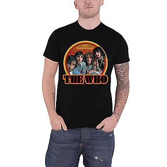 The Who T Shirt Pinball Wizard 1969 Band Logo new Official Mens Black