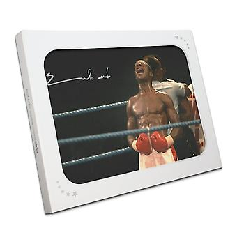 Chris Eubank Signed Boxing Photo: Simply The Best. In Gift Box