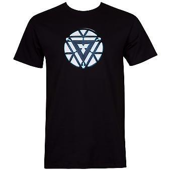 Iron Man Arc Reactor miesten ' s musta T-paita
