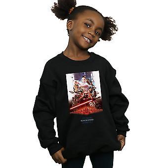Star Wars The Rise Of Skywalker Poster Girls Sweatshirt