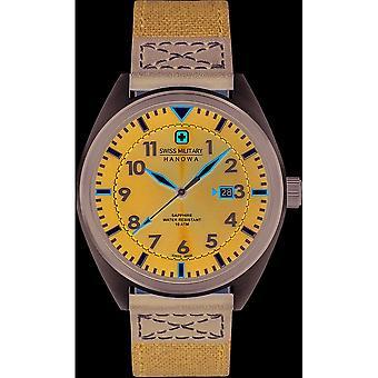 Swiss military Hanowa mens watch 06-4258.33.003 airborne