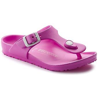 Birkenstock Kids Gizeh sandaal E V A 12863 neon roze
