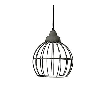 Light & Living Hanging Pendant Lamp D20x25cm Benthe Wire Cement