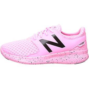 New Balance Girls' Coast V3 FuelCore Running Shoe Peony glo/Black 6.5 W US Bi...