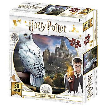 Harry Potter Hedwig 300 Piece 3D-Look jigsaw puzzle (kc)