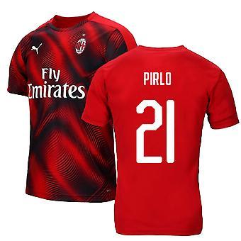 2019-2020 AC Milan Puma stadion Jersey (rood) (PIRLO 21)