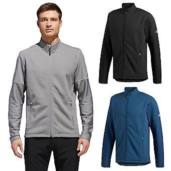 adidas Golf Hombres Climawarm Fullwarm Full Zip Warm Stretch Chaqueta Top