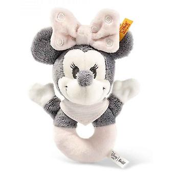 Steiff Minnie Mouse Rattle 13  cm