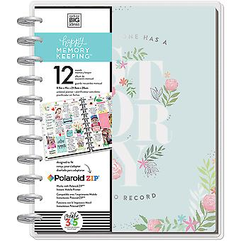 Happy Memory Keeping Undated 12-Month Big Planner -My Story W/Metal Discs