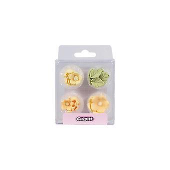 Culpitt Lemon Sugar Fiori & Foglie - 16 Pezzo