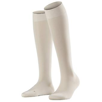 Falke jalka Vitalizer polvisukat korkea sukat - kerma