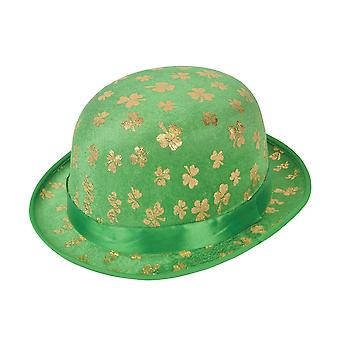 Bristol Novelty Unisex Adults St. Patrick Bowler Hat