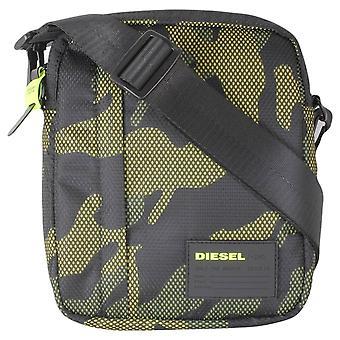 Diesel Discover-Me Oderzo Cross Body Bag - Camo Green